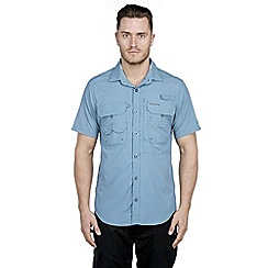 Craghoppers - Provincial blue nosilife short-sleeved angler shirt