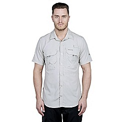 Craghoppers - Parchment nosilife short-sleeved angler shirt