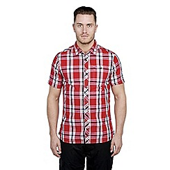 Craghoppers - Red combo hassan short-sleeved shirt