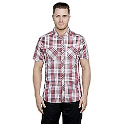 Craghoppers - Red combo kalifa short-sleeved shirt