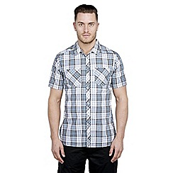 Craghoppers - Pool blue kalifa short-sleeved shirt