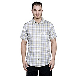 Craghoppers - Quarry grey calta short-sleeved shirt
