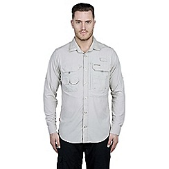 Craghoppers - Parchment nosilife long-sleeved angler shirt