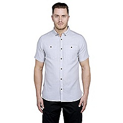 Craghoppers - Quarry grey dumaka short-sleeved shirt