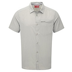 Craghoppers - Parchment nosilife belay short-sleeved shirt