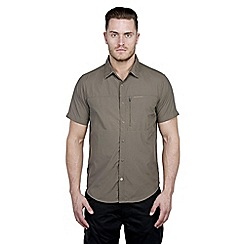 Craghoppers - Olive drab kiwi pro lite short-sleeved shirt