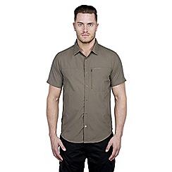 Craghoppers - Olive drab kiwi pro lite short-sleeved shirt