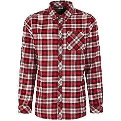 Craghoppers - Claret bedale long-sleeved check shirt