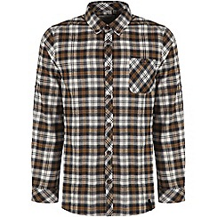 Craghoppers - Black pepper bedale long-sleeved check shirt