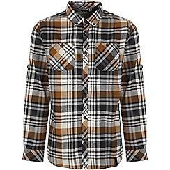Craghoppers - Black pepper ellerton long-sleeved shirt