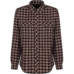 Craghoppers - Dark brown kiwi check shirt