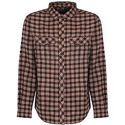 Craghoppers - Dark khaki kiwi check shirt