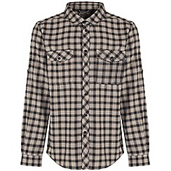 Craghoppers - Black pepper kiwi check shirt
