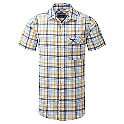 Craghoppers - Dusk blue combo avery short sleeved check shirt