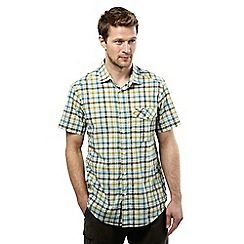 Craghoppers - Parka green combo avery short sleeved check shirt