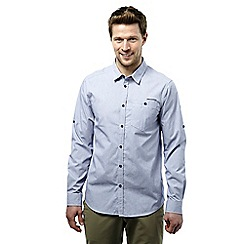 Craghoppers - Dusk blue nosilife henri long-sleeved shirt