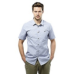 Craghoppers - Dusk blue nosilife henri short-sleeved shirt