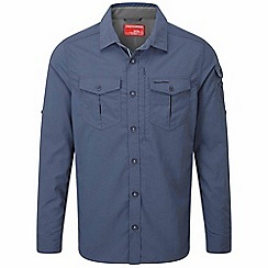 Craghoppers - Dusk blue nosilife adventure long-sleeved shirt