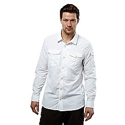 Craghoppers - Optic white nosilife adventure long-sleeved shirt