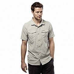 Craghoppers - Parchment nosilife adventure short-sleeved shirt