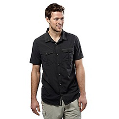 Craghoppers - Black pepper nosilife adventure short-sleeved shirt