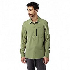 Craghoppers - Soft khaki Nosilife pro long sleeved shirt