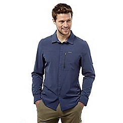 Craghoppers - Dusk blue nosilife pro long-sleeved shirt