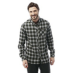 Craghoppers - Quarry grey Kearney long sleeved check shirt
