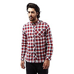 Craghoppers - Maple red Kearney long sleeved check shirt