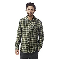 Craghoppers - Parka green Brigden long sleeved check shirt