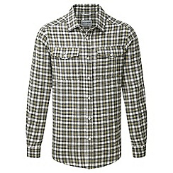Craghoppers - Black pepper Kiwi long sleeved check shirt
