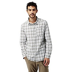 Craghoppers - Quarry grey combo Nosilife prospect long sleeved check shirt