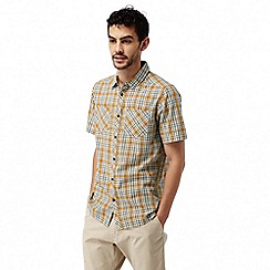 Craghoppers - Turmeric combo Northbrook short sleeved check shirt