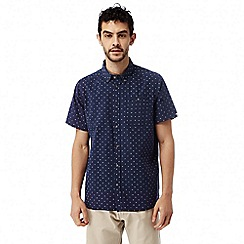 Craghoppers - Night blue combo Deacon short sleeved shirt