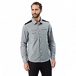 Craghoppers - Quarry grey Discovery adventures long sleeved shirt