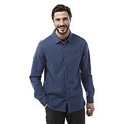 Craghoppers - Vintage indigo Flint long sleeved check shirt