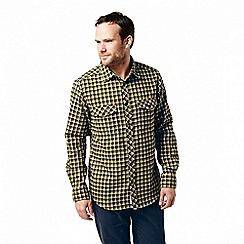 Craghoppers - Blue 'Kiwi' long sleeved check shirt