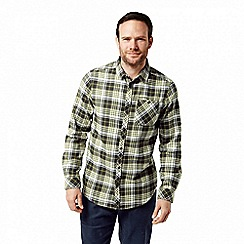 Craghoppers - Green 'Bjorn' long sleeved check shirt