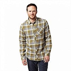 Craghoppers - Green 'Bjorn' long sleeved check shirt