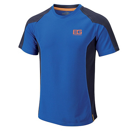 Bear Grylls - Extreme blue short sleeved base tee