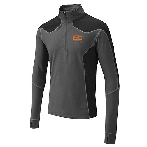 Bear Grylls - Black pepper long sleeved base tee