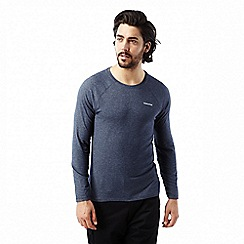 Craghoppers - Soft navy marl nosilife bayame long sleeved tee