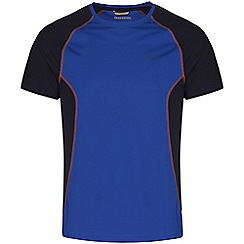Craghoppers - Cobalt/dknvy vitalise base t-shirt
