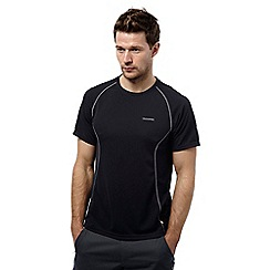 Craghoppers - Black pepper vitalise moisture control base t-shirt