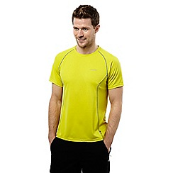 Craghoppers - Spring yellow vitalise moisture control base t-shirt