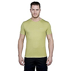 Craghoppers - Palm green marl nosilife short-sleeved base t-shirt