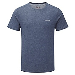 Craghoppers - Faded indigo nosilife short-sleeved base t-shirt