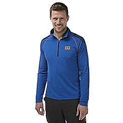 Bear Grylls - Extreme blue bear core long-sleeved tech t-shirt