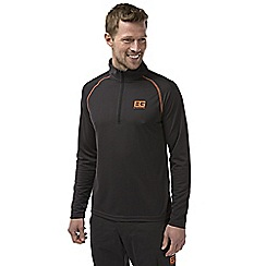 Bear Grylls - Black pepper bear core long-sleeved tech t-shirt