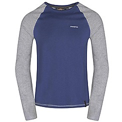 Craghoppers - Dusk/qrygrey ruston long sleeved t-shirt